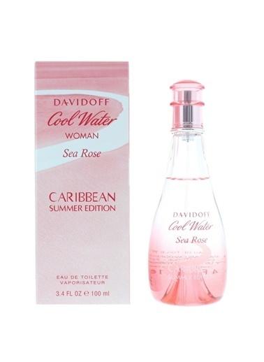Davidoff  Sea Rose Caribbean Summer Edt 100Ml Kadın Parfüm Renksiz